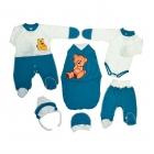 Комплект на выписку для мальчика (6 предметов)