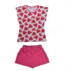 Комплект для девочки футболка + шорты