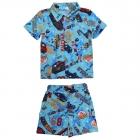 Комплект для мальчика (рубашка + шорты)